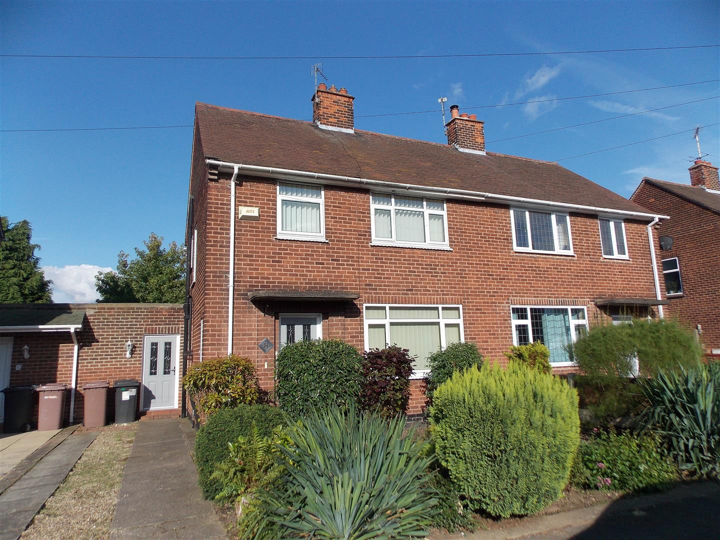 3 Bedrooms Semi Detached House for sale in Hills Road, Breaston